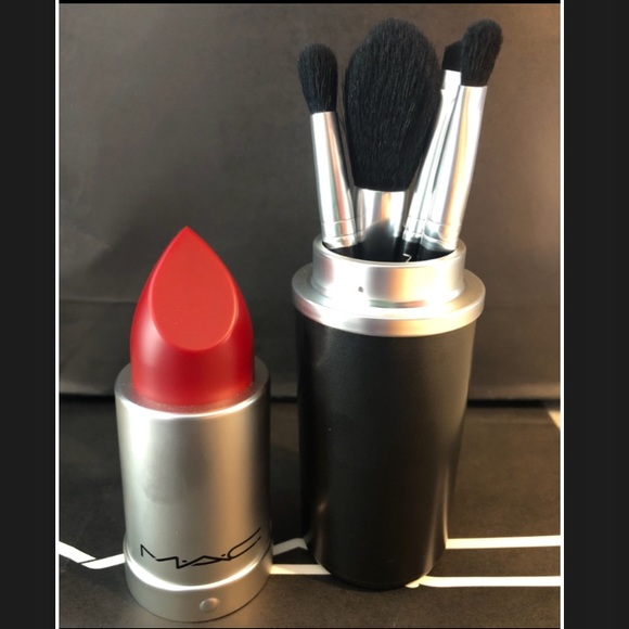 Mac Cosmetics Makeup Lipstick Brush Canister Poshmark